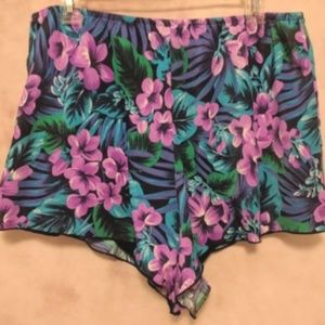 Other - 🛒Tropical/Floral Swim Shorts Nylon Blend USA Made